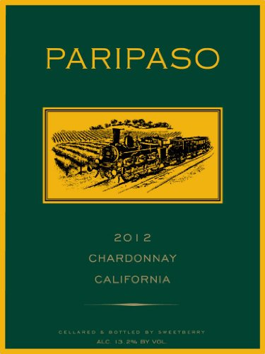 2012 Sweetberry Wines Paripaso Chardonnay Paso Robles 750 Ml