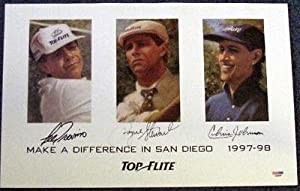 Signed Payne Stewart Photograph - & OTHERS 11x17 POSTER - PSA DNA Certified -... by Sports Memorabilia
