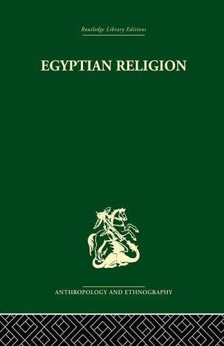 Egyptian Relgion, by Siegfried Morenz