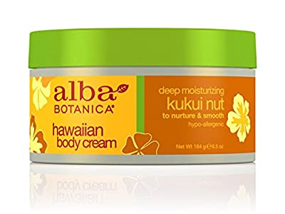 Alba Botanica Hawaiian, Kukui Nut Body Cream