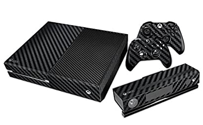 Video Game Accessories Skin Sticker Carbon Fiber Console And Controller Decal For Microsoft Xbox One S Bright In Colour