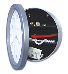 Embassy JB4985 Wall Clock With Hidden Safe