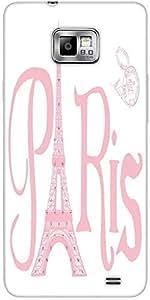 Snoogg Paris Eiffel A 2500 Designer Protective Back Case Cover For Samsung Ga...