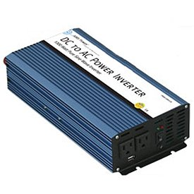AIMS PWRI150048S 1500 Watt Pure Sine Wave Power Inverter, 48 Volt