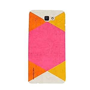 iSweven samj7P_1091 Printed high Quality Orange_pink_and_Yellow_color Design Back case cover for Samsung Galaxy J7 Prime