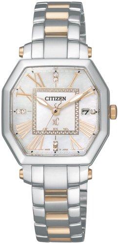 CITIZEN (シチズン) 腕時計 xC クロスシー Eco-Drive エコ・ドライブ 電波時計 XCD38-9015 レディース ダイヤモンドモデル