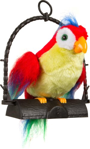 Blue Ridge Novelty Repeat Talking Parrot-Repeats What You Say - 1