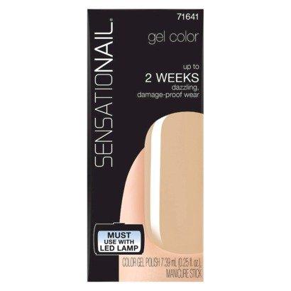 Sensationail Gel Nail Polish, Color: Evening Sand, 0.25 Fl. Oz. (Sensationail Gel Polish Colors compare prices)