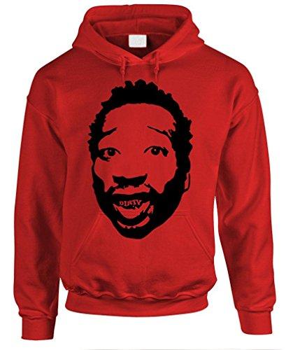 Dirty - Odb Wu Tang Clan Hip Hop Rap Mcgirt Pullover Hoodie, Xl, Red