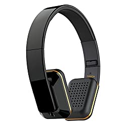 MEE Audio Air-Fi Touch Advanced Bluetooth Wireless Headphones with Touch Control and Headset Functionality