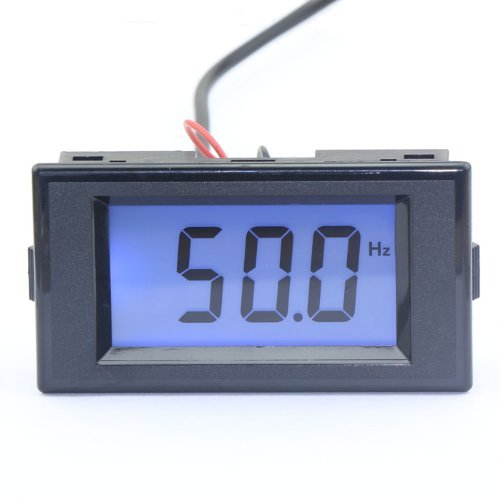 Riorand Two Wires Digital Frequency Panel Meter 10-199.9Hz Lcd Electric Reading Ac 80-250V front-203208