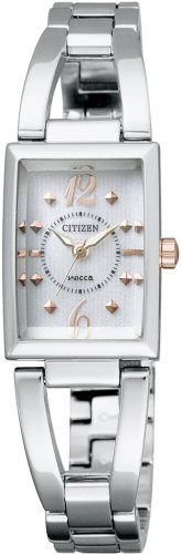 [シチズン]CITIZEN 腕時計 wicca ウィッカ Eco-Drive エコ・ドライブ ハーフバングルタイプ NA15-1561B レディース