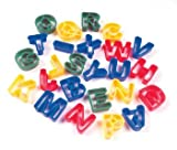 "Alphabet Dough Cutter Kit With 26 Capital Letters, 1-9/16""h, Assorted Colors"