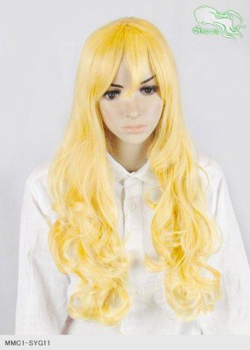 スキップウィッグ 魅せる シャープ 小顔に特化したコスプレアレンジウィッグ ドーリィミディ レモンキャンディ