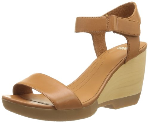 CAMPER Womens Laura Flip-flops 21945-004 Brown 5 UK, 38 EU