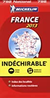 Carte NATIONALE France Indechirable 2013 n°792