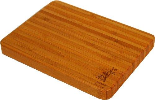 Island Bamboo Sr1 Encinitas Cutting Board, Mini, 8-Inch By 6-Inch front-580334