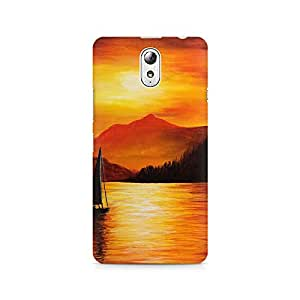 Mobicture Nature Abstract Premium Printed Case For Lenovo Vibe P1M