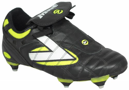 Boys Mitre revolution JR SI soft leather football soccer boots