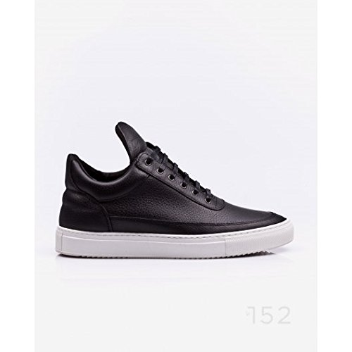 Filling Pieces Low Top Basic Black sneakers uomo - 43, Black