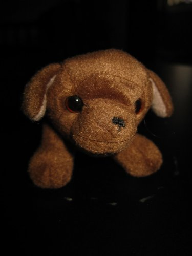 "Furreal Friends Puppy Brown Dog Mcdonald Happy Meal Plush Doll Toy 2.5"" - 1"