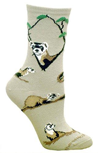 Ferret Socks 9-11 Stone