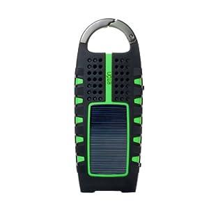 Eton Scorpion Radio solaire à manivelle AM/FM Noir/Vert