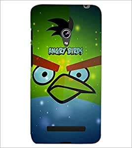 PrintDhaba Angry Bird D-3444 Back Case Cover for ASUS ZENFONE 5 A501CG (Multi-Coloured)