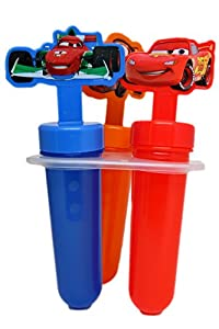 Disney Popsicle Maker Molds, Cars, 2-Pack (6 Popsicle Molds in Total)