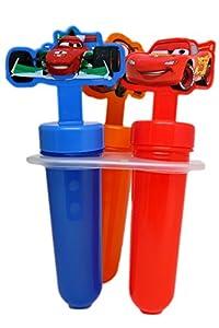 Disney Popsicle Maker Molds, Cars, 2-Pack (6 Popsicle Molds in Total)