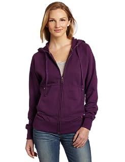 Dickies Women's Zip Hoodie, Plum, Small