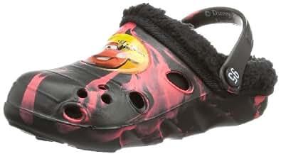 Cars boys kids clog sandals & mules CA450678, Jungen Clogs & Pantoletten, Mehrfarbig (RED/BLACK), EU 23