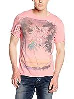 Pepe Jeans London Camiseta Manga Corta Freestone (Rosa Claro)