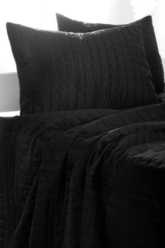 Black Queen Bed Set 1157 front