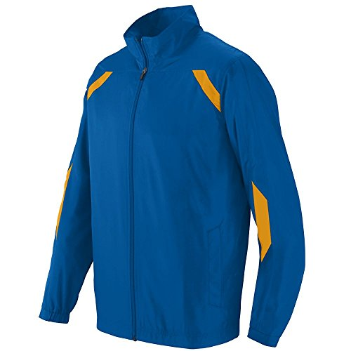 Boys' Avail Jacket Augusta Sportswear M Royal/Gold