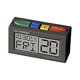 Medcenter Your Minder Talking Personal Recording Alarm Clock/no Power Supply