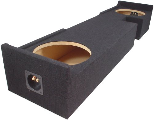 "Asc Ford F150 Extended Super Cab Truck 2000-2003 Dual 10"" Subwoofer Custom Fit Sub Box Speaker Enclosure"