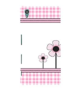 Flower Pattern Cute Fashion 3D Hard Polycarbonate Designer Back Case Cover for Sony Xperia Z5 :: Sony Xperia Z5 Dual