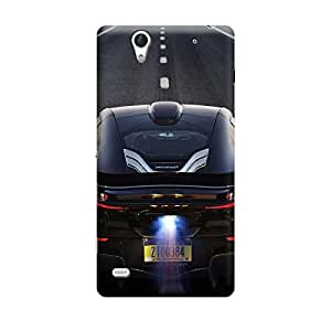 CaseLite Premium Printed Mobile Back Case Cover With Full protection For Sony Xperia C4 (Designer Case)