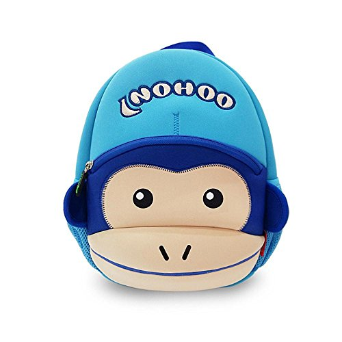 Coavas-Gift-For-Kids-Backpack-Cute-Toddler-Backpack-Funny-Monkey-With-Hat129141-inch-Monkey-Year-Best-Gift-for-Kids-3-8-years-old-Girls