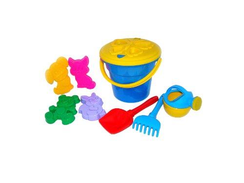 Trampoliere Maxi Bucket / farfalla Sieve / Spade / Rake / Sabbia Stampi e annaffiatoio