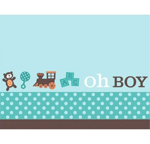 Boy Oh Boy Baby Shower Invitations - 1