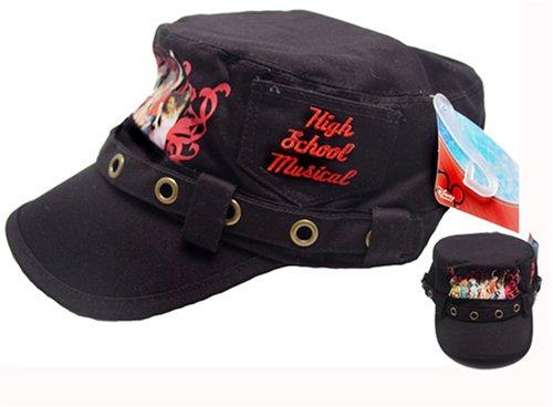 Black High School Musical Painter's Cap Hat
