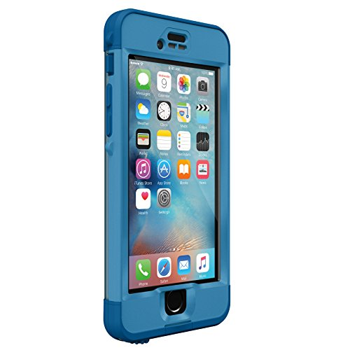 Lifeproof NÜÜD SERIES iPhone 6s ONLY Waterproof Case - Retail Packaging - CLIFF DIVE (BEACHY BLUE/CLEAR/STORMY SEAS BLUE) (Blue Lifeproof Case compare prices)