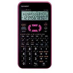Sharp El-509x-pk Scientific Calculator El509x Pink /Genuine