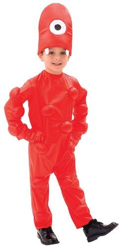 Yo Gabba Gabba Muno Toddler Costume Size 2T - 1