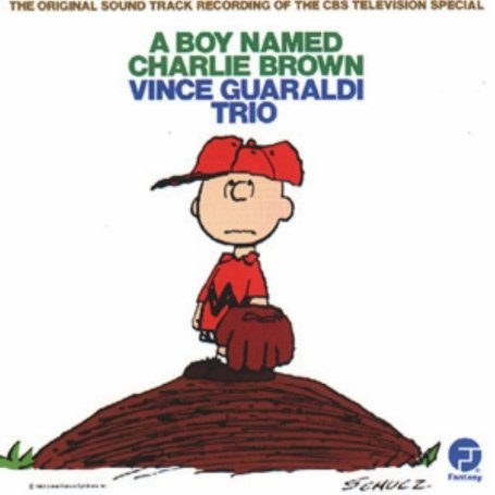 Original album cover of A Boy Named Charlie Brown: The Original Sound Track Recording Of The CBS Television Special by Vince Guaraldi