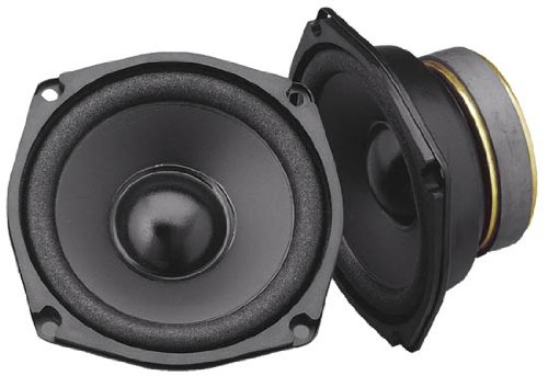 "Legacy Lm57 5.25"" 120 Watt Carbon Injected Midrange Speakers (Pair)"