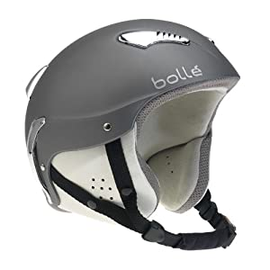Bolle Nirvana Snowboard Helmet - Soft Dark Grey by Bolle