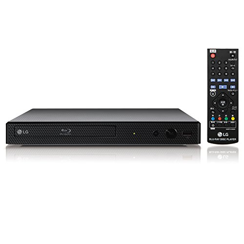 LG ブルーレイプレーヤー / HDMIケーブル付属 Wi-Fi内蔵 コンパクトボディ BP350